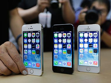 Apple's iPhone 5s is seen in this file photo. Reuters