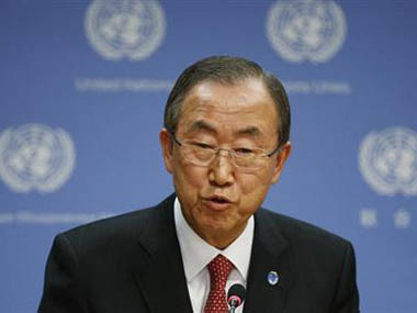 UN Secretary General Ban Ki-moon. Reuters