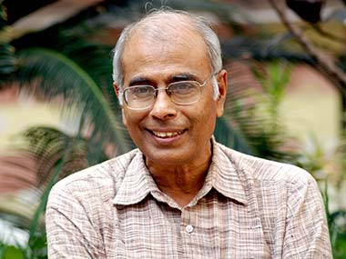 File photo of Narendra Dabholkar. AP