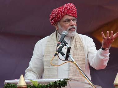 Mr Modi, when will you say something substantive? AFP image