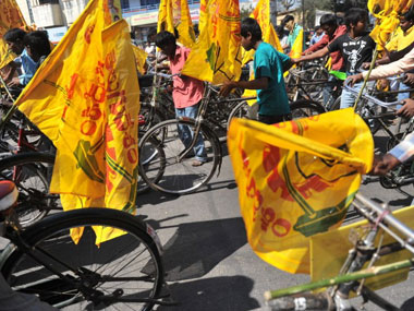 TDP flags. Image used for representational purposes. AFP