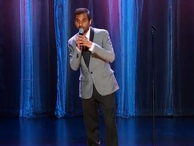 Aziz Ansari from Comedy Central. Courtesy: YouTube.