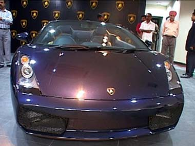 Total Lamborghini Cars In India Car Image Ideas