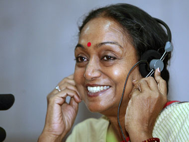 File image of Meira Kumar.