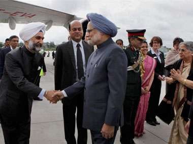 Prime Minister Manmohan Singh at the G20: PTI image