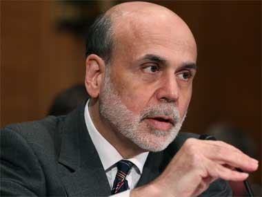 US Federal Reserve chairman Ben Bernanke. Getty Images