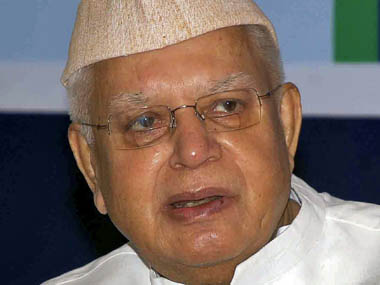 ND Tiwari is seen in this file photo. Reuters