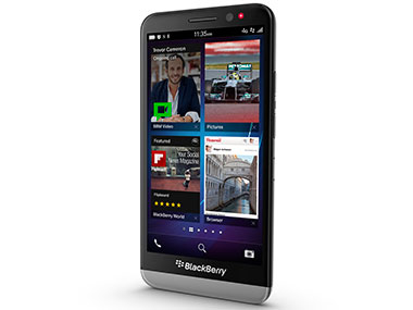BlackBerry Z30 is seen in this product photo.