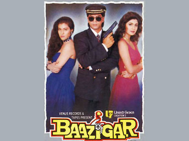 The Baazigar poster