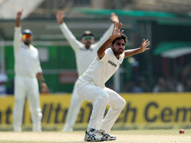 Bhuvi got the danger man, Chris Gayle, with a bouncer. BCCI