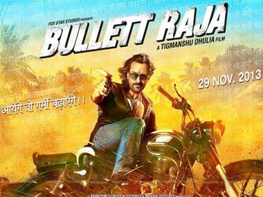 The poster of the film Bullett Raja. Image courtesy: Facebook