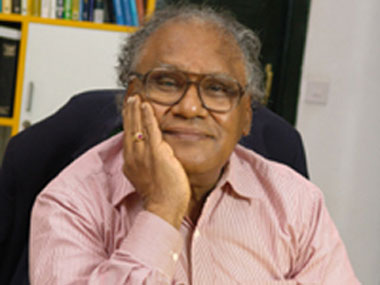 Professor CNR Rao. Image courtesy: Rao's website.