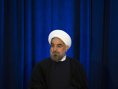 Iranian President Hassan Rouhani in this file photo. AP