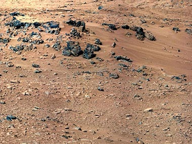 Surface of Mars. AP image
