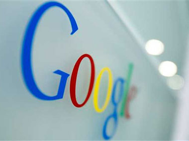 Google logo is seen in this file photo. AP