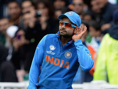 Kohli has his own way of dealing with stress. Getty Images