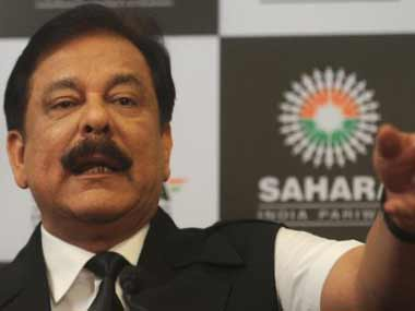 Subrata Roy, the head of the Sahara group. AFP