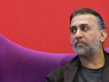 Tehelka co-founder and editor-in-chief Tarun Tejpal.