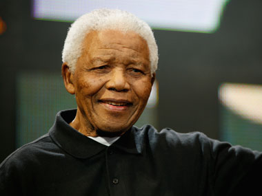 File image of Nelson Mandela. Getty images