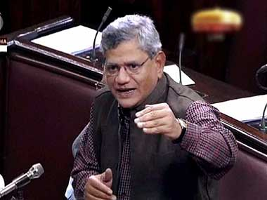 CPI leader Sitaram Yechury in this file photo. PTI