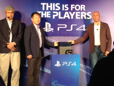 From left to right: Sony India PlayStation Head Atindriya Bose, Sony India MD Kenichiro Hibi and Sony Entertainment General Manager Robert Fisser. Shruti Dhapola/Firstpost