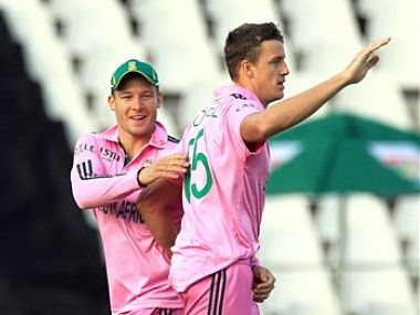 Morkel was deadly for the South Africans too. AP