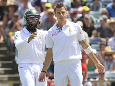 Steyn and Amla — two of SA's biggest players. Reuters