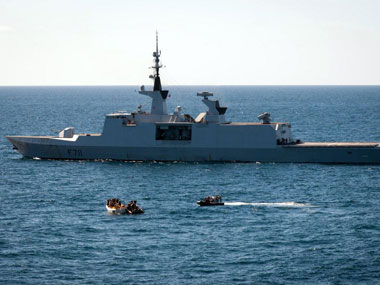 A file photo of Somali pirates. AFP