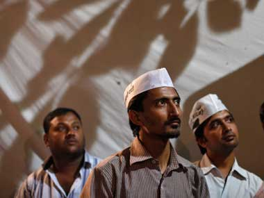 AAP volunteers. Reuters image