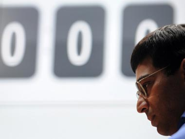 Anand takes on Nakamura today. AFP