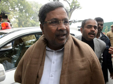 Karnataka CM Siddaramaiah. AFP