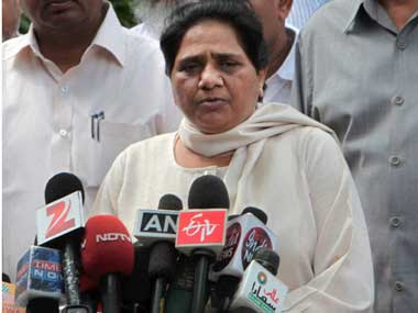 Bahujan Samaj Party chief Mayawati. PTI