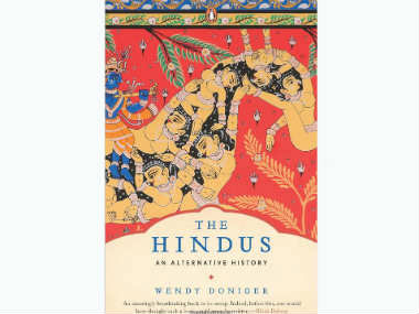 Cover of Doniger's The Hindus.