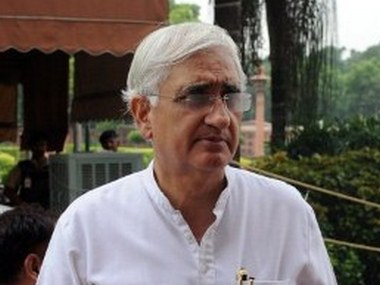 External Affairs Minister Salman Khurshid. AFP