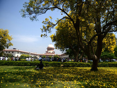 Supreme Court of India is seen in this file photo. Reuters