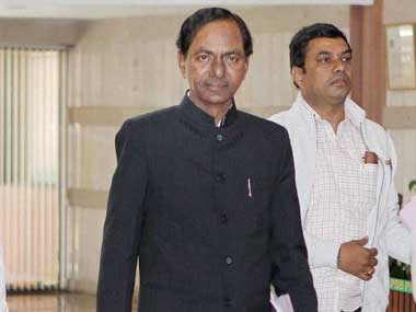 File image of Chandrashekhar Rao.: PTI