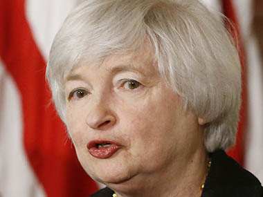 Federal Reserve Chair Janet Yellen -- AP