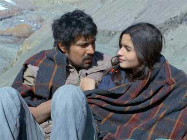 Bhatt and Hooda in a still from the film. Image courtesy: Facebook