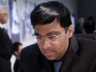 File image of Viswanathan Anand. AFP