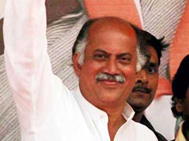 Congress MP Gurudas Kamat.