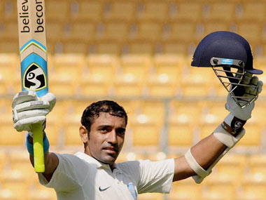 File picture of Robin Uthappa. PTI