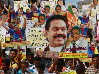 Sri Lanka has been opposing the international probe into the allegations. AP