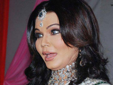 Rakhi Sawant in this file photo. Image from Facebook