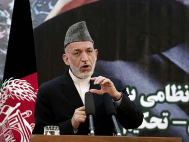 File image of Hamid Karzai. AP