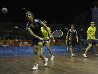 File picture of Joshna Chinappa. AFP