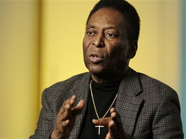 Pele believes teams don't want to put on a show now. They just want to win. AP