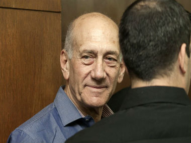 File image of Israeli PM Ehud Olmert. Reuters