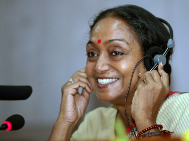 File image of Meira Kumar. Reuters