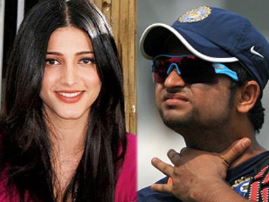 Shruti Hassan and Suresh Raina dating?