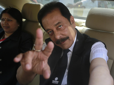 Sahara chief Subrata Roy.  Reuters